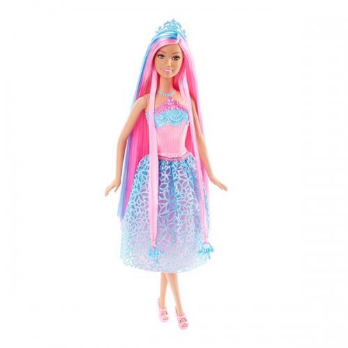 Барби Принцесса с длинными розовыми волосами Бишкек и Ош купить в магазине игрушек LEMUR.KG доставка по всему Кыргызстану