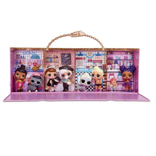LOL Surprise Органайзер - витрина для кукол (оригинал) Бишкек и Ош купить в магазине игрушек LEMUR.KG доставка по всему Кыргызстану