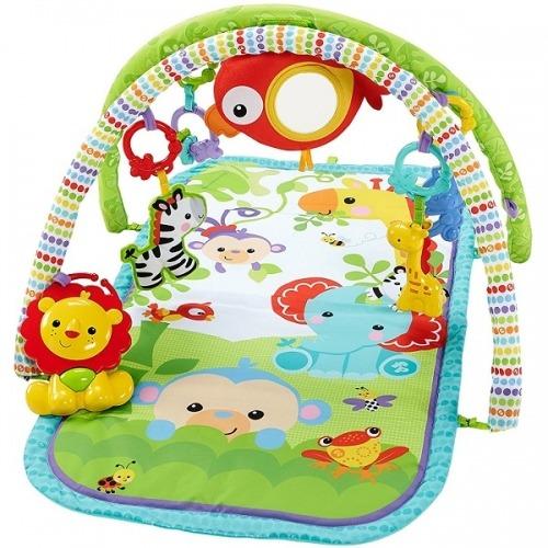 Игровой коврик 3-в-1 Fisher-Price Бишкек и Ош купить в магазине игрушек LEMUR.KG доставка по всему Кыргызстану