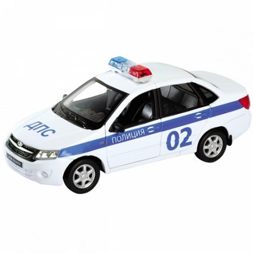 Welly модель машины 1:34-39 Lada Granta полиция Бишкек и Ош купить в магазине игрушек LEMUR.KG доставка по всему Кыргызстану
