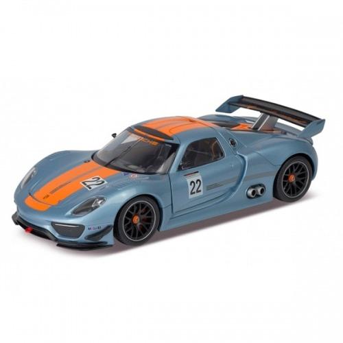 Welly модель машины 1:24 Porsche 918 RSR Бишкек и Ош купить в магазине игрушек LEMUR.KG доставка по всему Кыргызстану