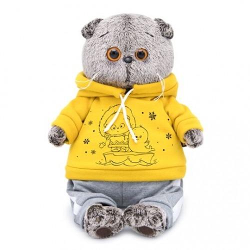 Мягкая игрушка Басик в спортивном костюме - код 7533