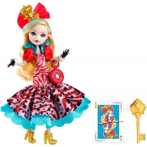 Ever After High Эппл Уайт из серии 'Дорога в Страну Чудес' Бишкек и Ош купить в магазине игрушек LEMUR.KG доставка по всему Кыргызстану