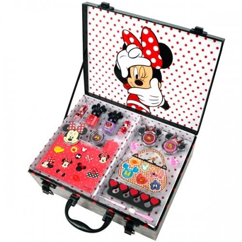Игровой набор детской косметики Minnie в кейсе Бишкек и Ош купить в магазине игрушек LEMUR.KG доставка по всему Кыргызстану