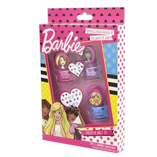 Набор детской косметики Барби для ногтей Бишкек и Ош купить в магазине игрушек LEMUR.KG доставка по всему Кыргызстану