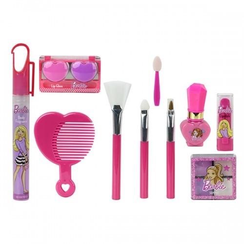 Набор детской косметики Барби с поясом визажиста Бишкек и Ош купить в магазине игрушек LEMUR.KG доставка по всему Кыргызстану