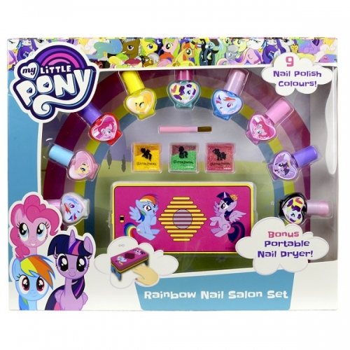 Набор детской косметики My Little Pony для ногтей Бишкек и Ош купить в магазине игрушек LEMUR.KG доставка по всему Кыргызстану