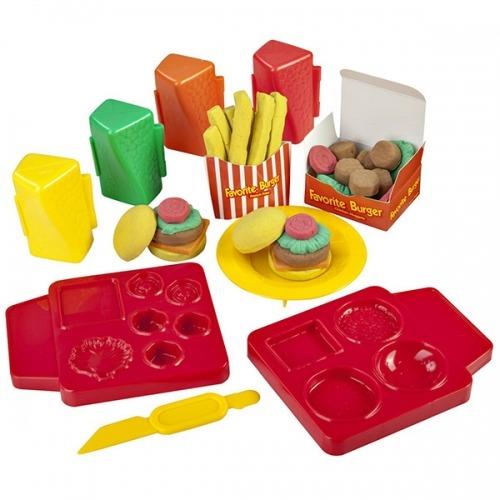 Skwooshi 'Бургер' масса для лепки и аксессуары Бишкек и Ош купить в магазине игрушек LEMUR.KG доставка по всему Кыргызстану