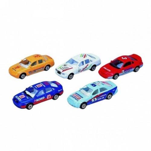 Welly Набор из пяти машин 'Гоночная команда' Бишкек и Ош купить в магазине игрушек LEMUR.KG доставка по всему Кыргызстану