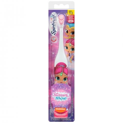 Электрическая зубная щетка SpinBrush Шиммер и Шайн Бишкек и Ош купить в магазине игрушек LEMUR.KG доставка по всему Кыргызстану
