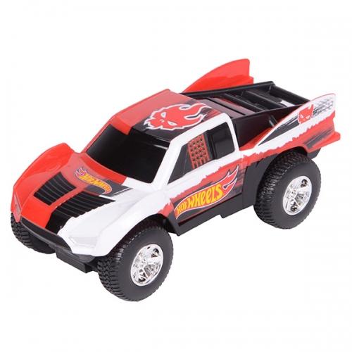 Машинка Hot Wheels на бат. со светом механич. красн. 14 см Бишкек и Ош купить в магазине игрушек LEMUR.KG доставка по всему Кыргызстану