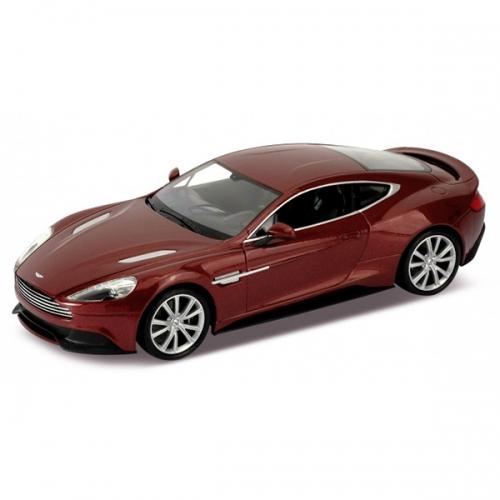 Welly модель машины 1:24 Aston Martin Vanquish Бишкек и Ош купить в магазине игрушек LEMUR.KG доставка по всему Кыргызстану