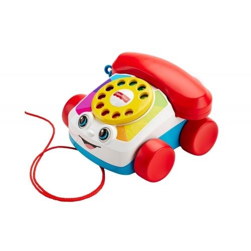Игрушка-каталка 'Веселый телефон' Fisher-Price Бишкек и Ош купить в магазине игрушек LEMUR.KG доставка по всему Кыргызстану