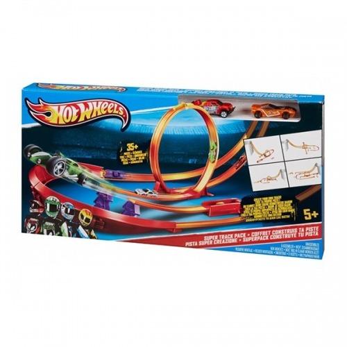 Игровой набор Hot Wheels 'Супертрек' Бишкек и Ош купить в магазине игрушек LEMUR.KG доставка по всему Кыргызстану