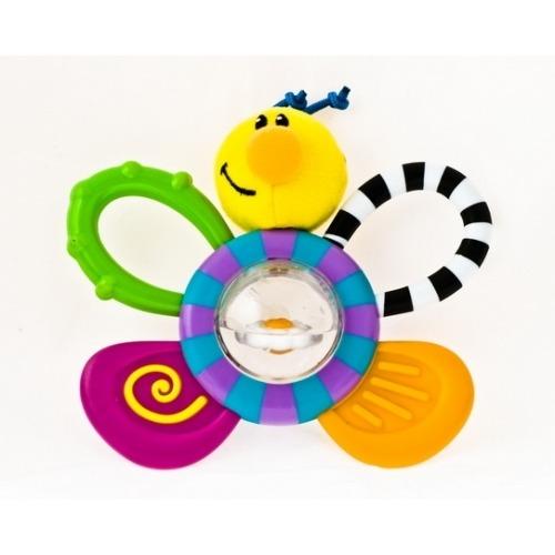 NUBY Игр-прорез с водяным шариком 'Пчёлка', 'Черепаха' Бишкек и Ош купить в магазине игрушек LEMUR.KG доставка по всему Кыргызстану