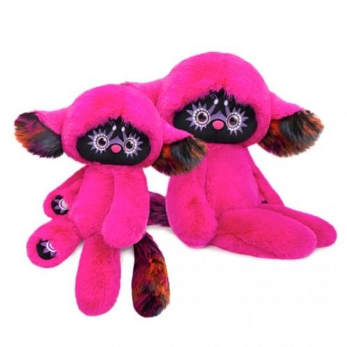 Мягкая игрушка Лори Колори - Тёко (фуксия) 25 см Бишкек и Ош купить в магазине игрушек LEMUR.KG доставка по всему Кыргызстану