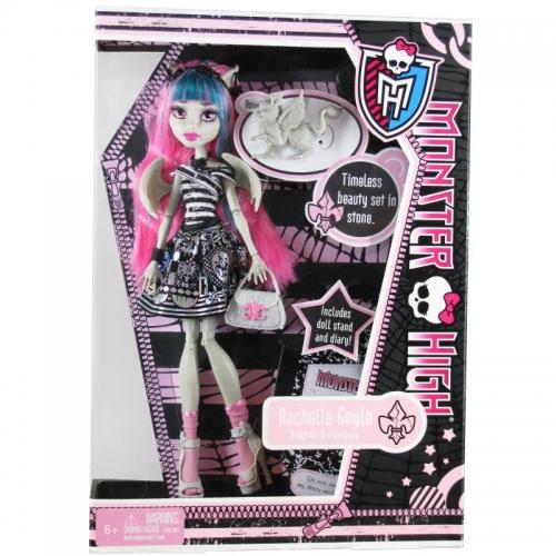 Monster High Рошель Гойл с питомцем Первый Выпуск Бишкек и Ош купить в магазине игрушек LEMUR.KG доставка по всему Кыргызстану