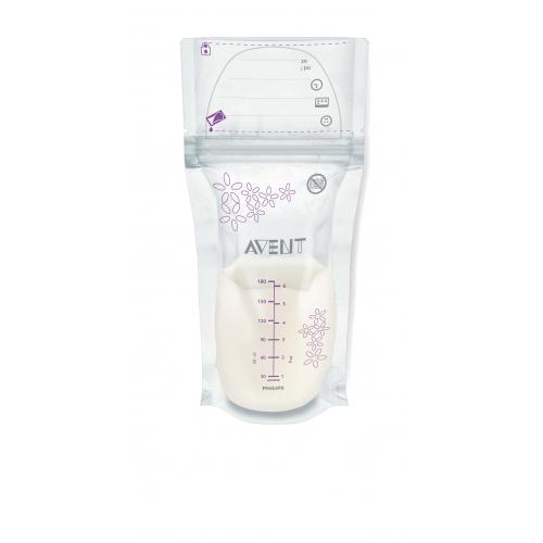 Avent Пакеты для хранения грудного молока, 180 мл (25 шт.) Бишкек и Ош купить в магазине игрушек LEMUR.KG доставка по всему Кыргызстану