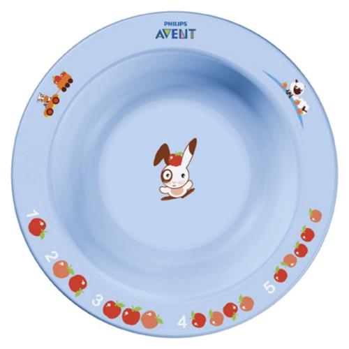 Avent Детская тарелка маленькая 6 мес+ Бишкек и Ош купить в магазине игрушек LEMUR.KG доставка по всему Кыргызстану