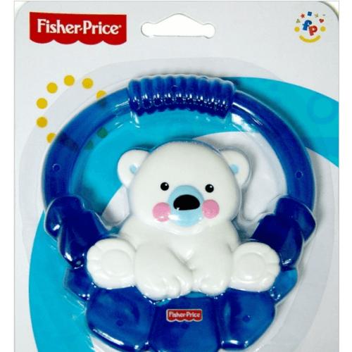 Прорезыватель Fisher-Price 'Полярный мишка' с охл. жидк.  Бишкек и Ош купить в магазине игрушек LEMUR.KG доставка по всему Кыргызстану