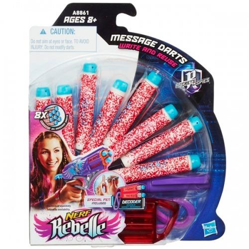N-Rebelle Комплект из 12 стрел для секретных сообщений Бишкек и Ош купить в магазине игрушек LEMUR.KG доставка по всему Кыргызстану