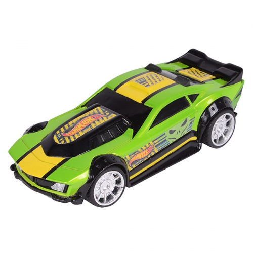 Машинка Hot Wheels на бат. со светом механич. зелёная 14 см Бишкек и Ош купить в магазине игрушек LEMUR.KG доставка по всему Кыргызстану