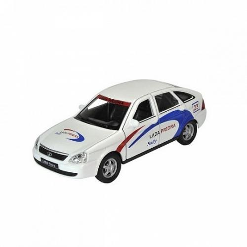 Welly модель машины  1:34-39 Lada Priora rally Бишкек и Ош купить в магазине игрушек LEMUR.KG доставка по всему Кыргызстану