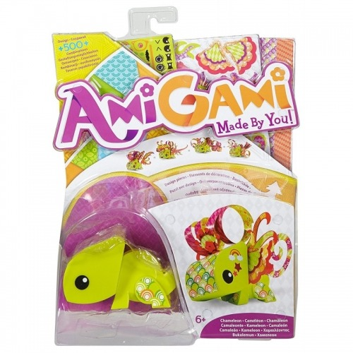 Хамелеон AmiGami Бишкек и Ош купить в магазине игрушек LEMUR.KG доставка по всему Кыргызстану