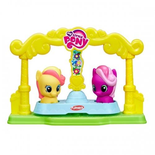 My Little Pony карусель для пони-малышек Бишкек и Ош купить в магазине игрушек LEMUR.KG доставка по всему Кыргызстану