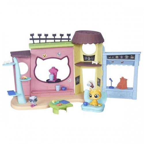 Игровой набор Littlest Pet Shop 'Кафе' Бишкек и Ош купить в магазине игрушек LEMUR.KG доставка по всему Кыргызстану