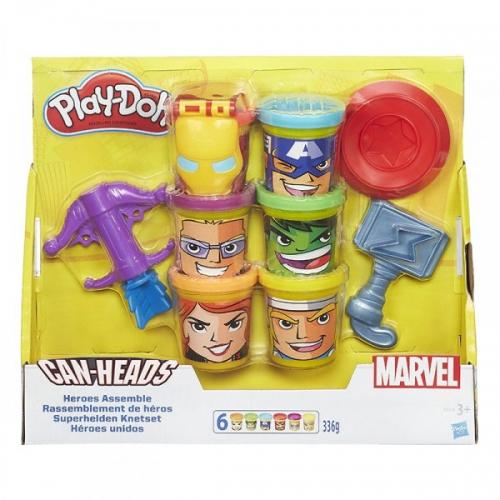 Play-Doh Коллекция героев мстителей Бишкек и Ош купить в магазине игрушек LEMUR.KG доставка по всему Кыргызстану