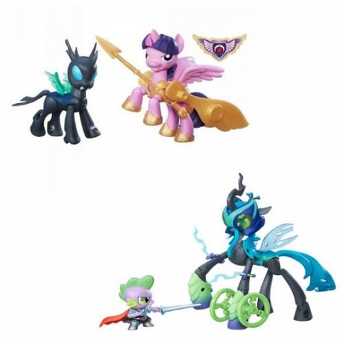 My Little Pony 2 фигурки с артикуляцией Бишкек и Ош купить в магазине игрушек LEMUR.KG доставка по всему Кыргызстану
