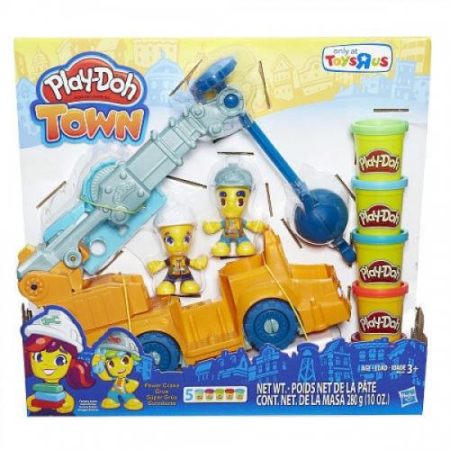 Набор Play-Doh Кран Бишкек и Ош купить в магазине игрушек LEMUR.KG доставка по всему Кыргызстану