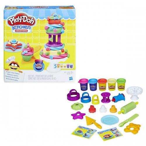 Набор Play-Doh 'Набор для выпечки' Бишкек и Ош купить в магазине игрушек LEMUR.KG доставка по всему Кыргызстану