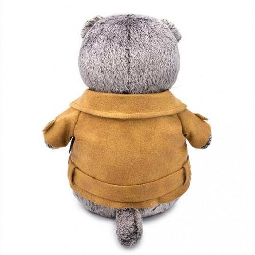 Мягкая игрушка Басик в куртке-косухе Бишкек и Ош купить в магазине игрушек LEMUR.KG доставка по всему Кыргызстану