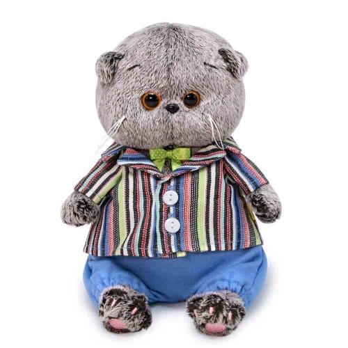 Мягкая игрушка Басик Baby в полосатом пиджаке Бишкек и Ош купить в магазине игрушек LEMUR.KG доставка по всему Кыргызстану