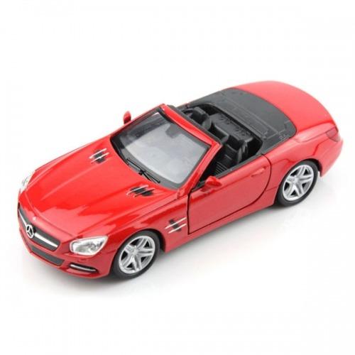 Welly модель машины 1:18 Mercedes-Benz SL500 Бишкек и Ош купить в магазине игрушек LEMUR.KG доставка по всему Кыргызстану