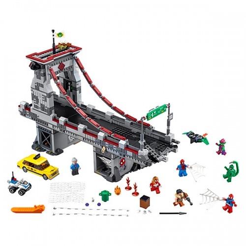 LEGO: Человек-паук: Последний бой воинов паутины Бишкек и Ош купить в магазине игрушек LEMUR.KG доставка по всему Кыргызстану