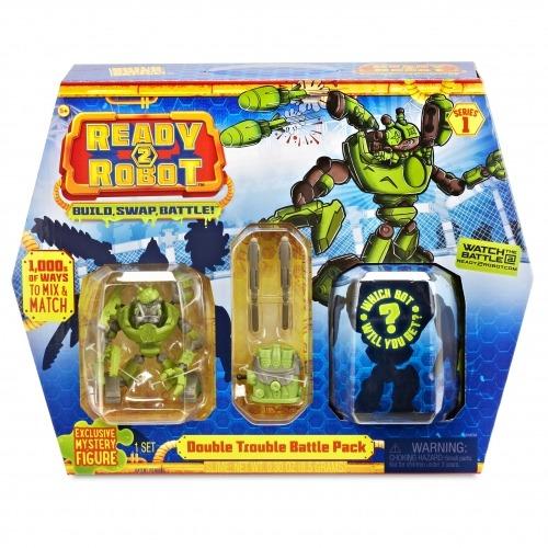 Боевой набор - Двойная Проблема Ready2Robot (оригинал) Бишкек и Ош купить в магазине игрушек LEMUR.KG доставка по всему Кыргызстану