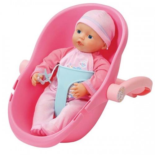 Baby Born Кукла 32 см и кресло-переноска Бишкек и Ош купить в магазине игрушек LEMUR.KG доставка по всему Кыргызстану