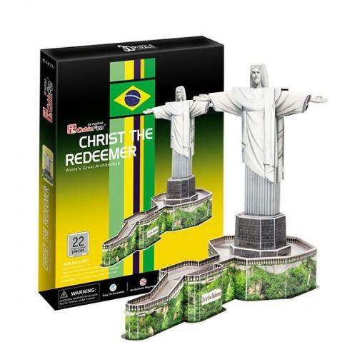 3D пазл Статуя Христа-Искупителя (Бразилия) Бишкек и Ош купить в магазине игрушек LEMUR.KG доставка по всему Кыргызстану
