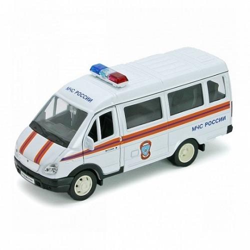Welly модель машины ГАЗель МЧС Бишкек и Ош купить в магазине игрушек LEMUR.KG доставка по всему Кыргызстану