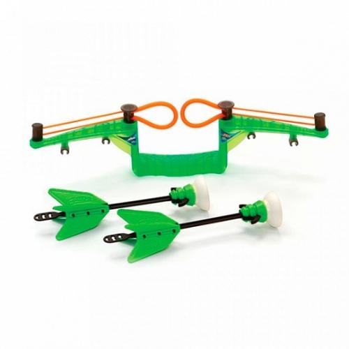 Набор мини-лук Zing с двумя стрелами на присосках (в ассорт.) Бишкек и Ош купить в магазине игрушек LEMUR.KG доставка по всему Кыргызстану