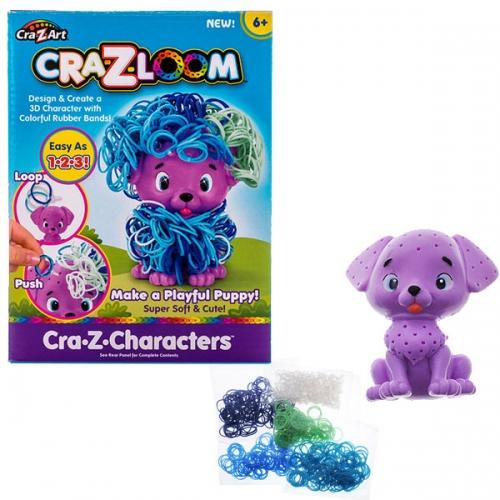 Набор Cra-Z-Loom фигурка Щенок и цветные резиночки Бишкек и Ош купить в магазине игрушек LEMUR.KG доставка по всему Кыргызстану