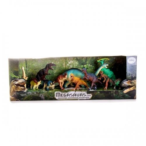Игровой набор динозавров 11 штук Бишкек и Ош купить в магазине игрушек LEMUR.KG доставка по всему Кыргызстану