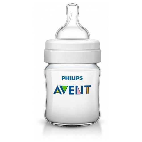 Avent Бутылочка 125 мл, соска с потоком для новорожденного Бишкек и Ош купить в магазине игрушек LEMUR.KG доставка по всему Кыргызстану