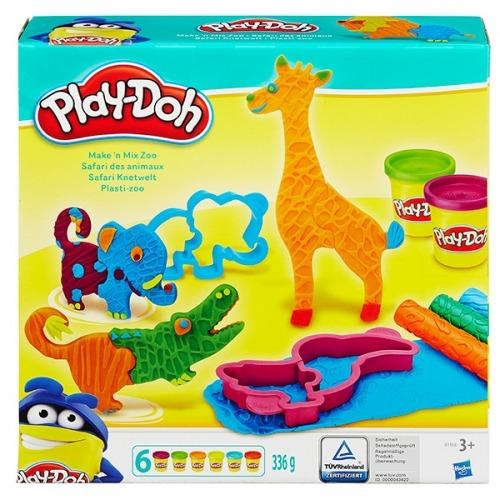 Набор Play-Doh 'Весёлые сафари' Бишкек и Ош купить в магазине игрушек LEMUR.KG доставка по всему Кыргызстану