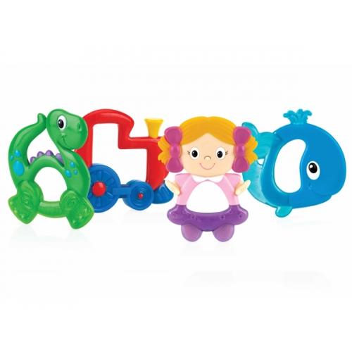 NUBY Твердо/Мягкий грузынок (поезд, дино, кукла, кит) Бишкек и Ош купить в магазине игрушек LEMUR.KG доставка по всему Кыргызстану