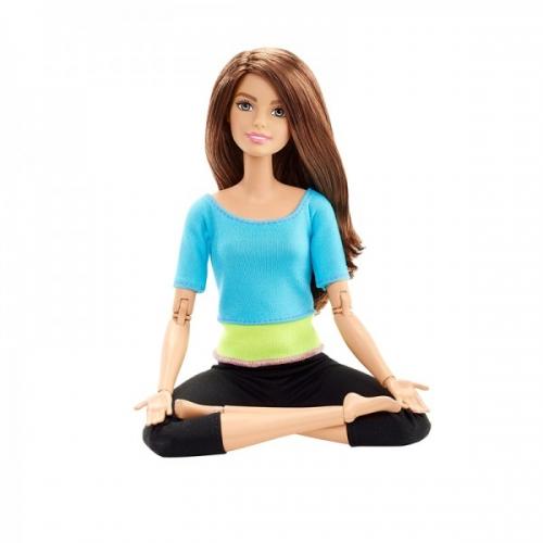 Кукла Барби 'Безграничные движения' в синем топе Бишкек и Ош купить в магазине игрушек LEMUR.KG доставка по всему Кыргызстану