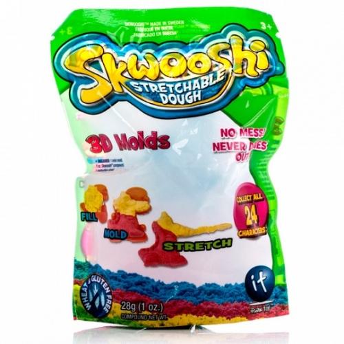 Пакетик Skwooshi с формочкой и массой для лепки 28 гр Бишкек и Ош купить в магазине игрушек LEMUR.KG доставка по всему Кыргызстану